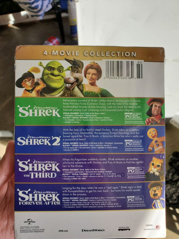 Shrek movie collection
