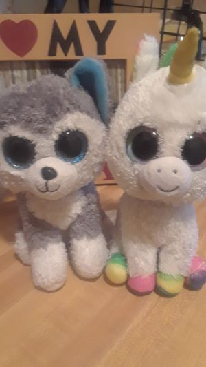 2 cute plushies for Sale in Brooklyn, NY