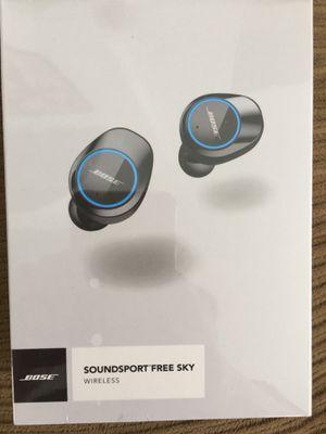 Bose soundsport free sky wireless earbuds red for Sale in Pomona, CA