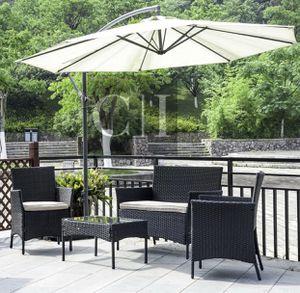 Brand New! 4 Piece Black Outdoor Balcony Patio Furniture Set for Sale in Orlando, FL