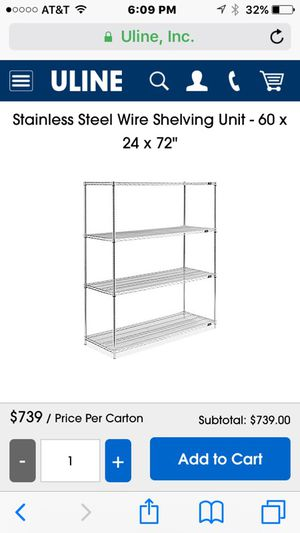 Restaurant shelving units for Sale in San Diego, CA