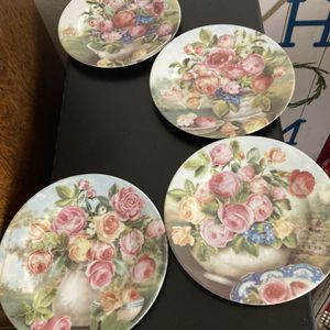 Limoges France Plates Set Of 4 For 24.00. for Sale in Huntington Beach, CA