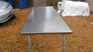 Stainless steel restaurant table for Sale in Virginia Beach, VA