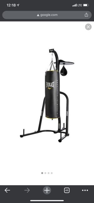 Everlast Dual Station Punching Bag Stand for Sale in Bothell, WA