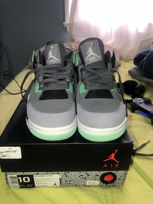 Air Jordan Green Glow 4 for Sale in Silver Spring, MD