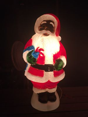Santa of Color Blow Mold. Slaughter Ln for Sale in Austin, TX
