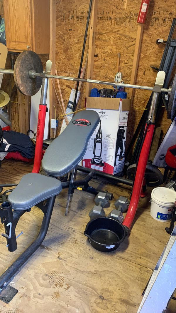 Body by Jake Bench Press & Weights!