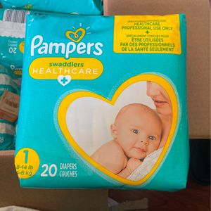 Baby Pampers Size 1 for Sale in Bridgeport, CT