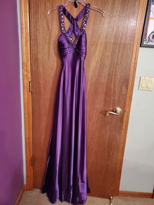 La Femme Fashion PROM DRESS SIZE 0 NEW NEVER WORN-- for Sale in Hazlet, NJ