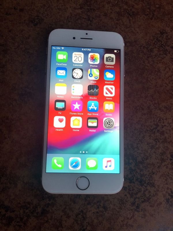 64GB iPhone 6s.AT&T and Cricket