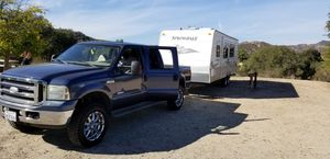 2005 Ford F250 Diesel and 2011 Springdale , 27 foot travel trailer for Sale in Downey, CA
