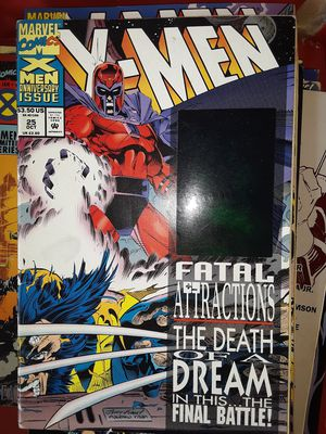 X-Men fatal attractions the death of a dream in this final battle comic book for Sale in D'Iberville, MS