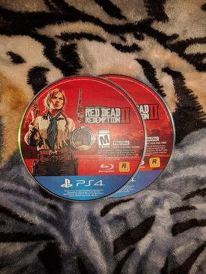PS4 Red Dead Redemption 2 PlayStation 4 for Sale in Oceanside, CA