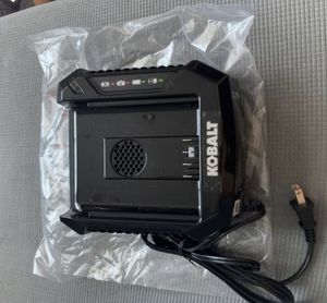 NEW!!! Kobalt 80V MAX CHARGER lithium Li-ion power tool 80 volt Battery KRC 30-06 2.0 2.5 5.0 6.0 AH for Sale in Glendale, CA