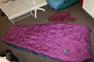 Sierra Design sleeping bag goose down for Sale in Grover Beach, CA