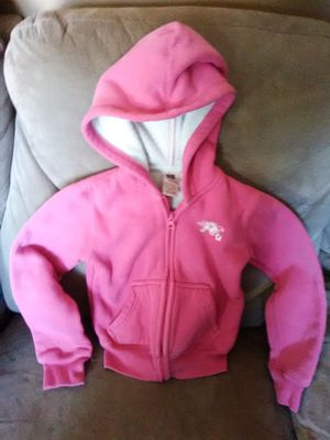 Girls size 4/5 Pink Zip Up Hoodie Jacket for Sale in St. Louis, MO