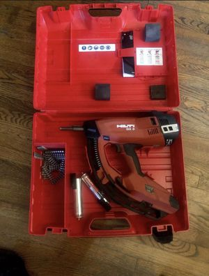 Hilti gx3. Nail gun gas actuated(best in its class) for Sale in San Pedro, CA