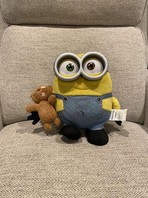 "DESPICABLE ME MINIONS BOB PLUSH 10"" STUFFED TALKS LIGHT UP TEDDY BEAR SLEEPY for Sale in West Sacramento, CA"