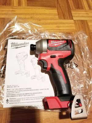 Milwaukee Impact Driver Brushless M18 for Sale in Norwalk, CA