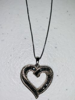 Heart Necklace $30.00 Sterling Silver for Sale in Fort Worth,  TX