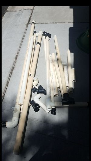 Pvc pipe lot and coleman ice chest sleeping bag for Sale in Gilbert, AZ