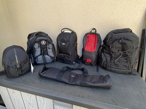 Various camera bags for Sale in Escondido, CA