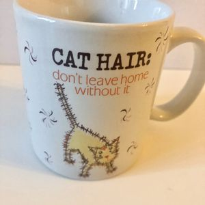 "Cat Hair: don't leave home without it"" coffee mug for Sale in Plantation, FL"