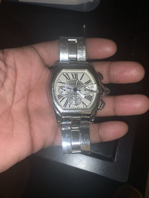 Cartier Roadster Automatic Stainless Steel Water Resistant for Sale in Washington, DC
