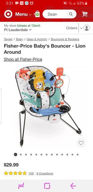 Baby Bouncer- like new for Sale in Tamarac, FL