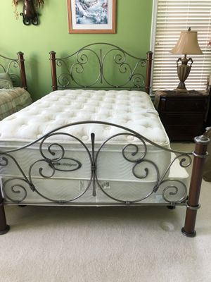 Wrought iron full bed. for Sale in Bristow, VA