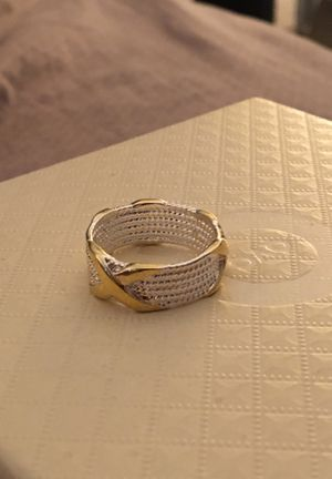 Silver plated ring size 7 for Sale in Corona, CA