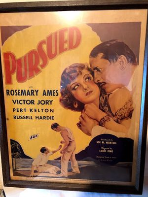 Framed 1937 Movie Poster for Sale in Middletown, CT