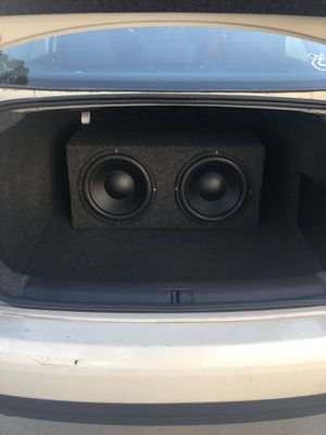 12 inch subwoofers in box for Sale in Portland, OR