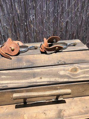 Nice horse spurs!!! Bonitas espuelas vaqueras!!! for Sale in Imperial Beach, CA