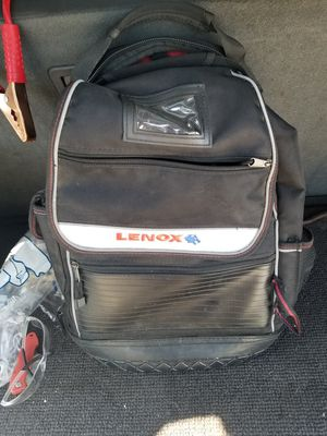 Lennox tool backpack and misc hand tools for Sale in Murfreesboro, TN