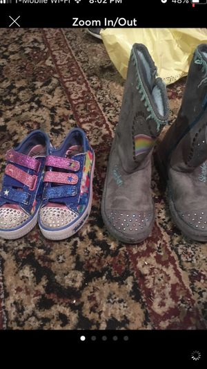 Girls size 12 shoes for Sale in Springfield, VA