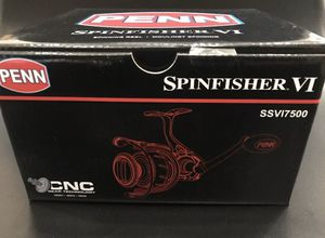 Penn Spinfisher Vi 7500 New in Box for Sale in Tampa, FL