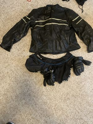 Xl leather motorcycle jacket for Sale in Spanaway, WA