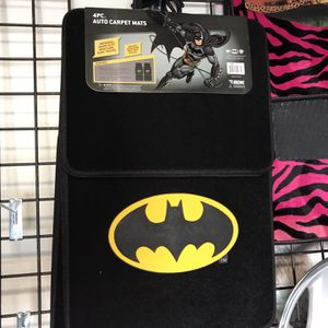 Batman Mats,JEEP TIRE COVER,Wipers,Waterproof Seat Covers,Custom Steering Wheel Covers,Hubcaps,Floor Mats Everything $10-$15 for Sale in San Diego, CA
