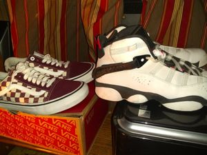 Women's vans 6.5 women's Jordan's 6.5 for Sale in Groves, TX