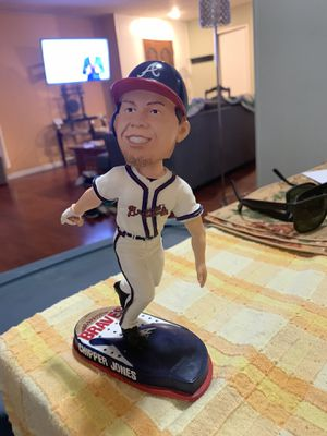 Forever Collectibles Chipper Jones Bobblehead for Sale in Westminster, CA