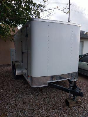 2014 trailer 12 x 6. Double axel for Sale in Phoenix, AZ