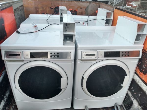 Maytag Commerical Front Loader Washers