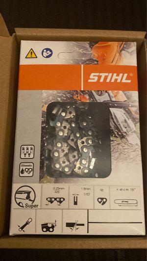 """Stihl chainsaw chain 18"""" for Sale in Silverado, CA"""