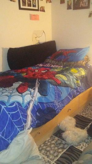 Twin Bed With Mattress for Sale in Columbus, OH