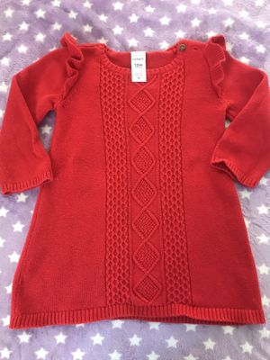 Girl's Long sleeve Red Dress for Sale in Temple City, CA
