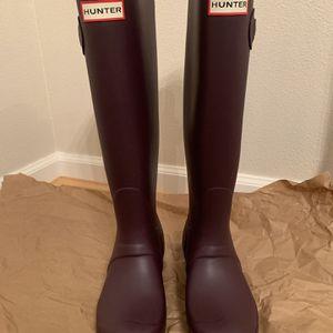 Hunter Original Tall Waterproof Rain Boot (women) for Sale in Des Moines, WA
