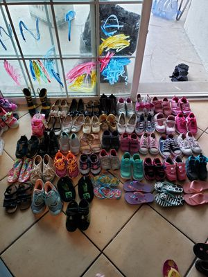 Nike, Jordan, Addidas, Converse Shoes Bulk for Sale in Downey, CA
