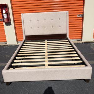 Upholstered Queen Bed Frame for Sale in Lake Ridge, VA