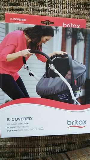 Britax all weather cover for car seat for Sale in Ellington, CT